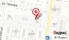 Гостиница Астера на карте