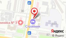 Гостиница Странник на карте