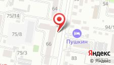 Мини-отель Пушкин на карте