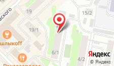 Мини-отель Старый город на карте