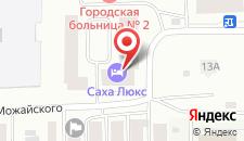 Гостиница Саха Люкс на карте