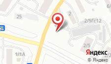Гостиница Рубин на карте