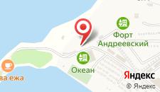 Отель Океан на карте