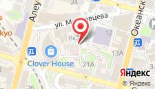 Отель Мирабель на карте