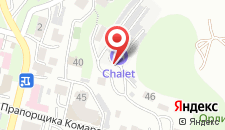 Гостевой дом Шале на карте