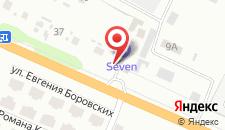 Гостиница Севен на карте