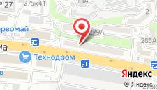 Отель на Калинина на карте