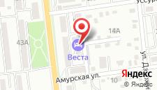 Отель Веста на карте
