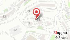Хостел Грин Дак на карте