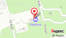 Гостиничный комплекс АВРОРА ПАРК ОТЕЛЬ на карте
