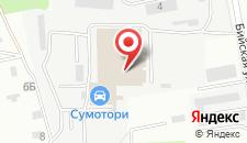 Гостиница Хинотель на карте
