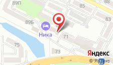 Мини-гостиница Ника на карте