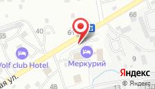Гостиничный комплекс Меркурий на карте