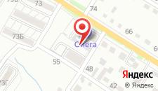 Отель Онега на карте