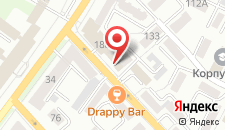 Гостиница Хабаровск на карте