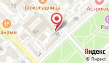 Отель Лотос на карте