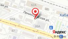 Хостел У вокзала БРЕНСОН на карте