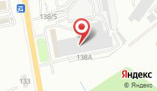Гостиница Абриколь на карте