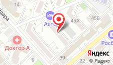 Мини-отель Асти на карте