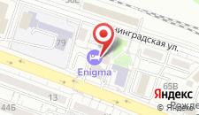 Семейный отель Энигма на карте
