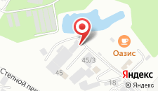 Мини-отель Оазис на карте