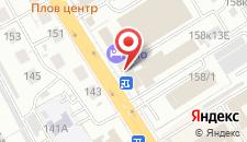 Гостиница ЮНЬХЭ на карте