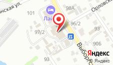 Гостиница Лайм на карте