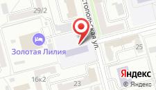 Отель Золотая лилия на карте