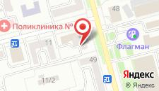 Отель Центр Сити на карте
