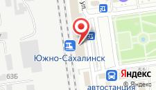 Гостиница Евразия на карте