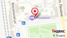 Гостиница Монерон на карте