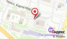 Хостел Петропавловск на карте