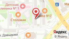 Апартаменты На Тушканова 5 на карте