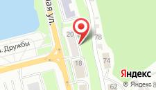 Апартаменты Набережная 20 на карте