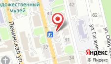Апартаменты В центре на карте