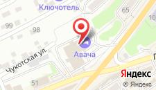 Гостиница Авача на карте