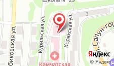 Мини-отель Гости на карте