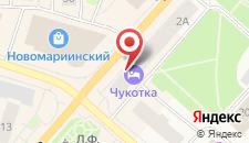 Отель Чукотка на карте