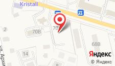Гостиница Лазурь на карте