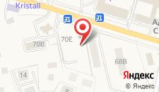 Отель Лазурь на карте
