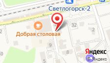 Гостиница Золотая бухта на карте