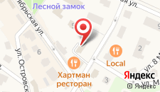 Гостиница Старый Доктор на карте