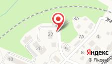 Апартаменты На Железнодорожной на карте