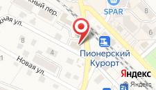Отель Наталья на карте