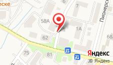 Апартаменты Cherry на карте