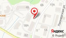 Апартаменты Пионерская на карте