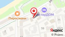 Гостиница Янтарный сезон на карте