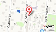 Апартаменты На Сибирякова 7 на карте