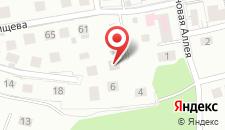 Гостевой дом На Каштановой на карте