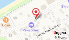Гостиница Ренессанс на карте